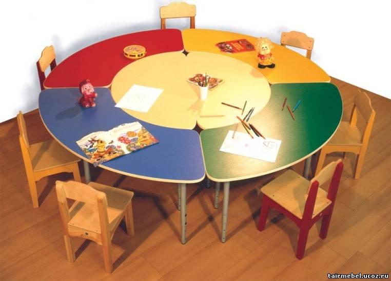 Круглый стол для детского сада automag52.ru интересные факты.